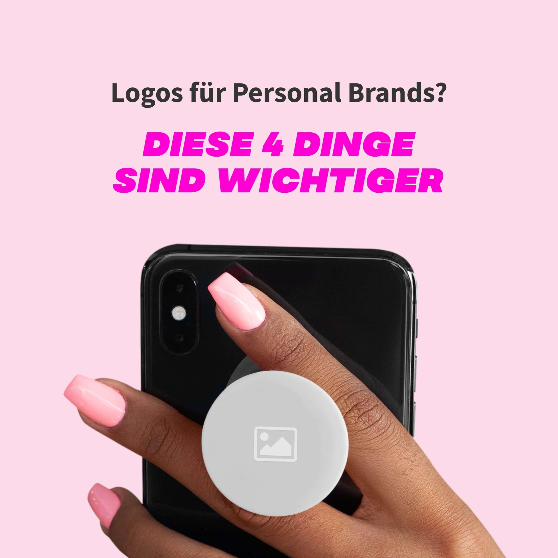 Logos für Personal Brands? Diese 4 Dinge sind wichtiger