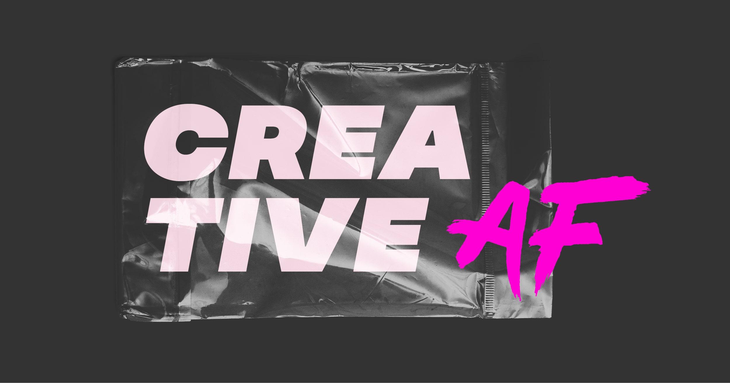 Mein Jahresmotto für 2021: Creative AF.