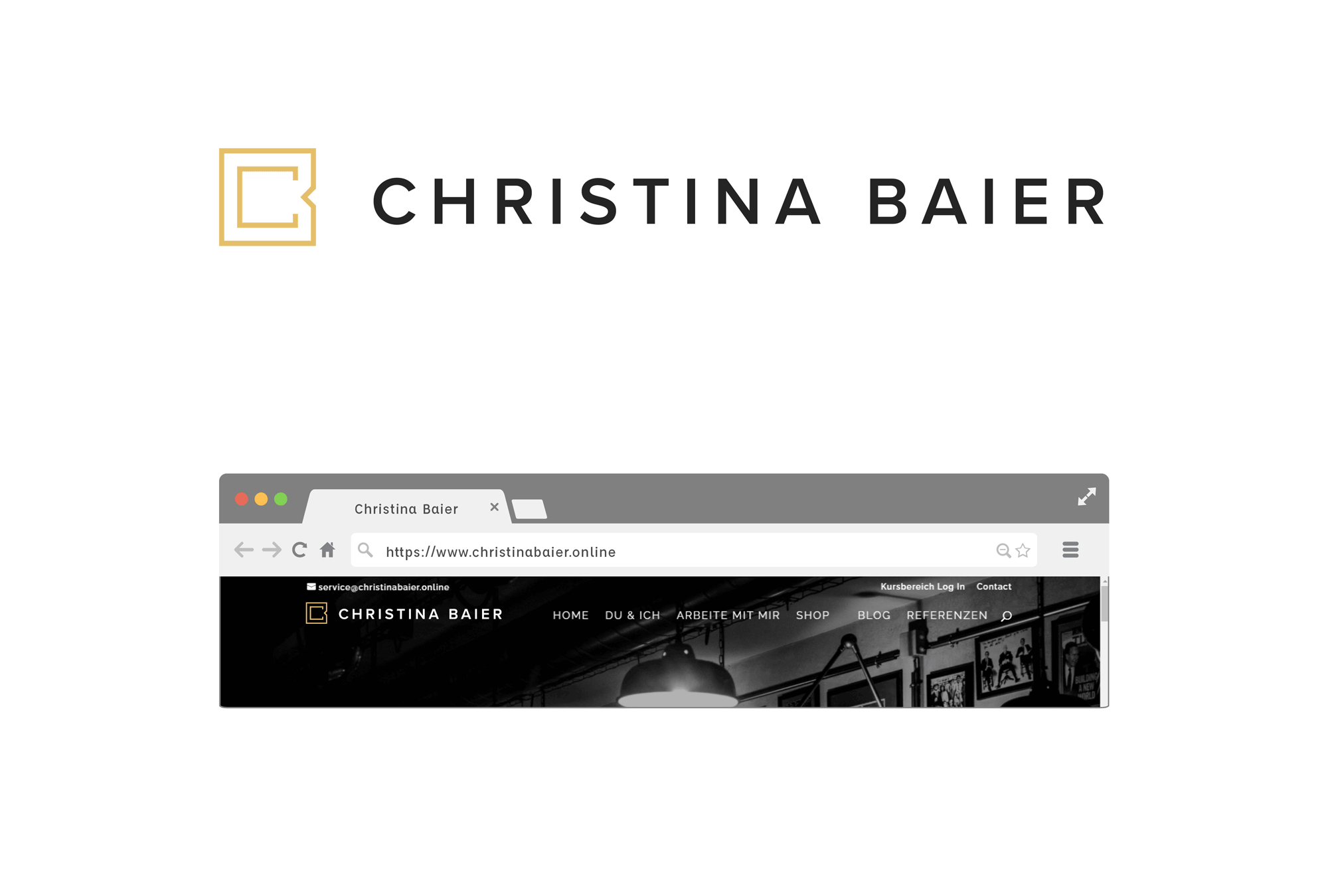Christina Baier langlogo Anwendung