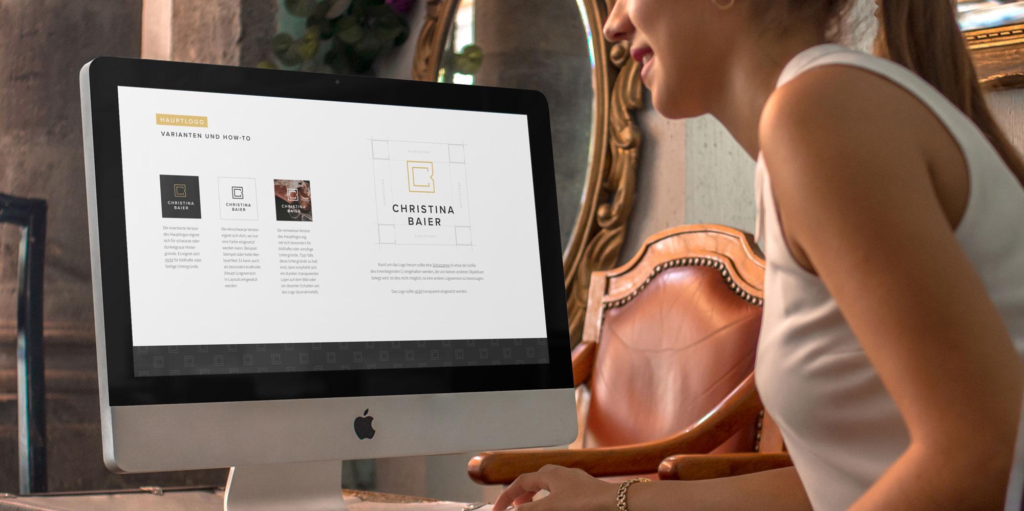 Christina Baier Logodesign Style Guide