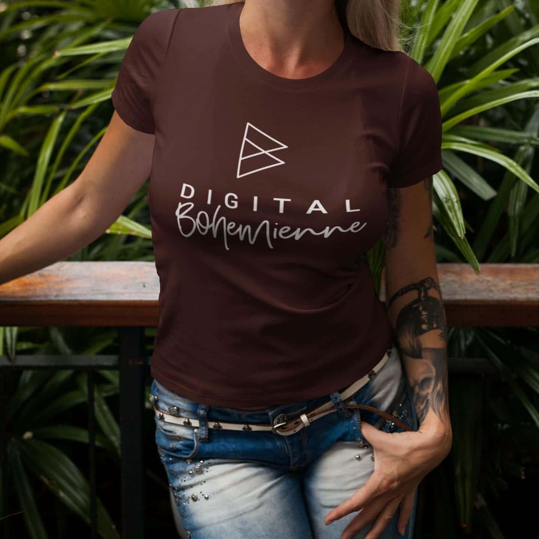 Digital Bohemienne Kompaktlogo Shirt
