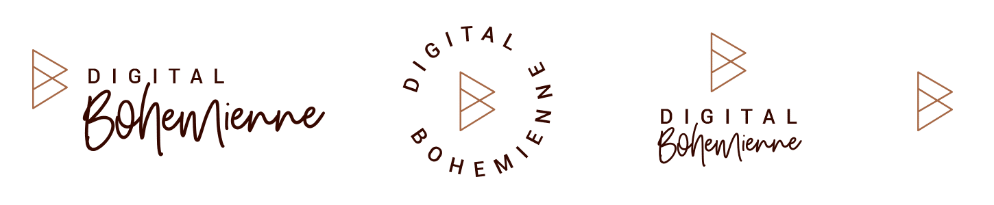 Digital Bohemienne Logo-Set farbig