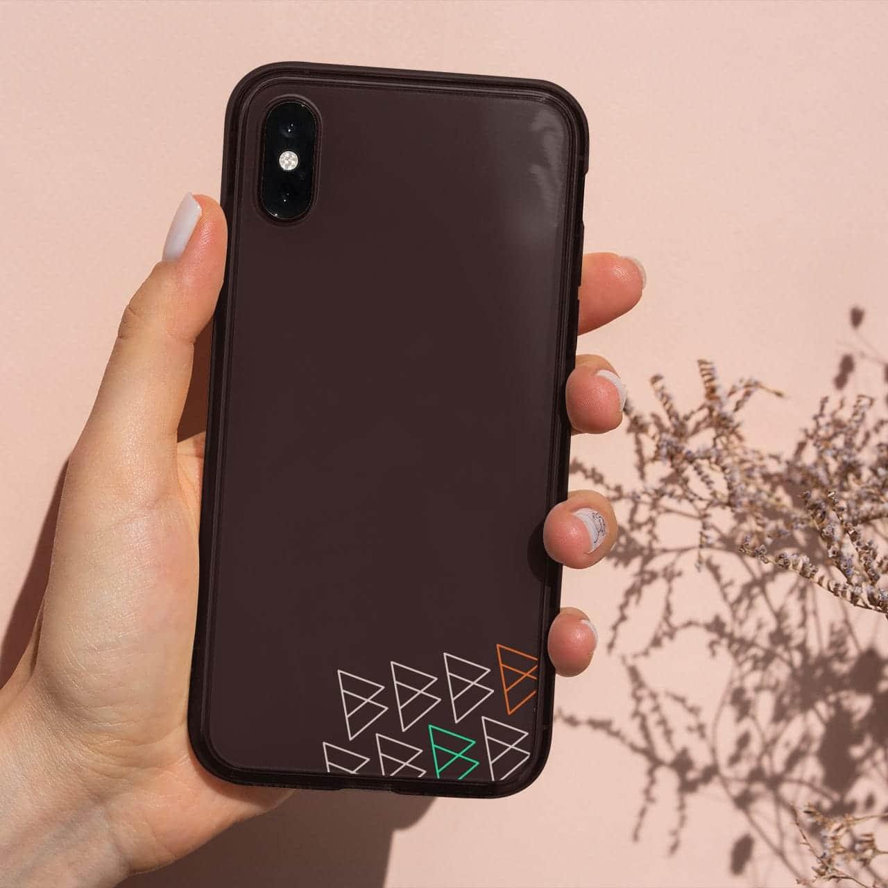 Digital Bohemienne Muster Smartphone-Hülle