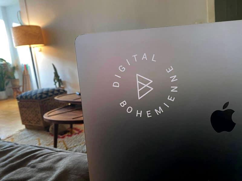 Digital Bohemienne Aufkleber