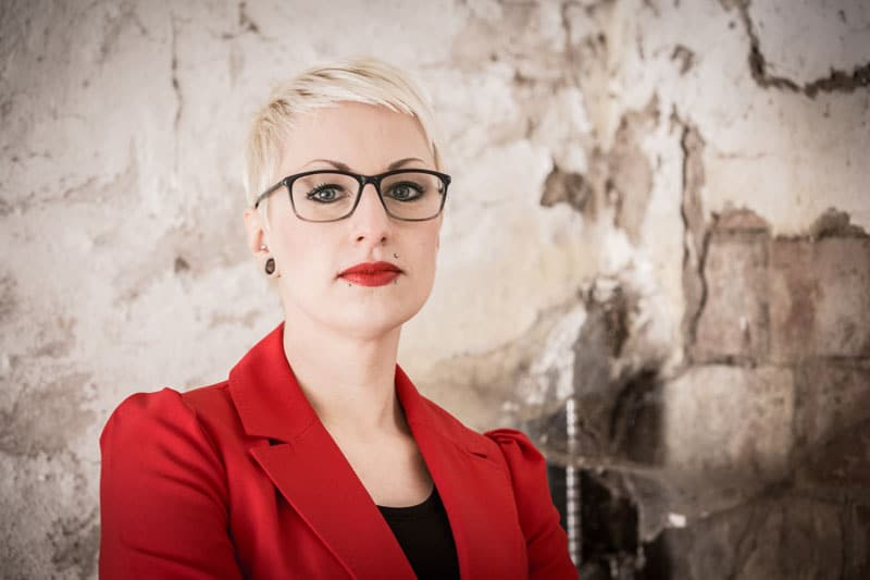 Lena Küssner - damals unterwegs als alto.red.