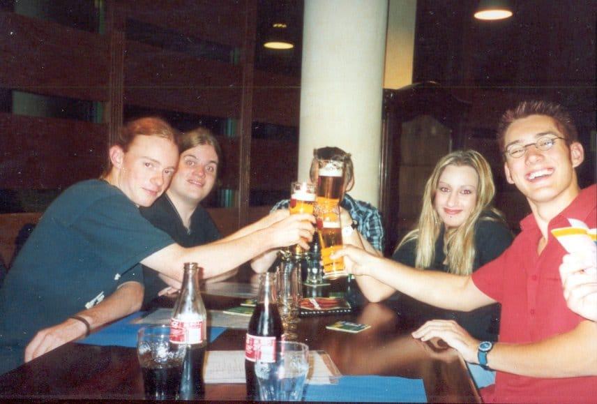 Studienfahrt nach Prag, 2002.