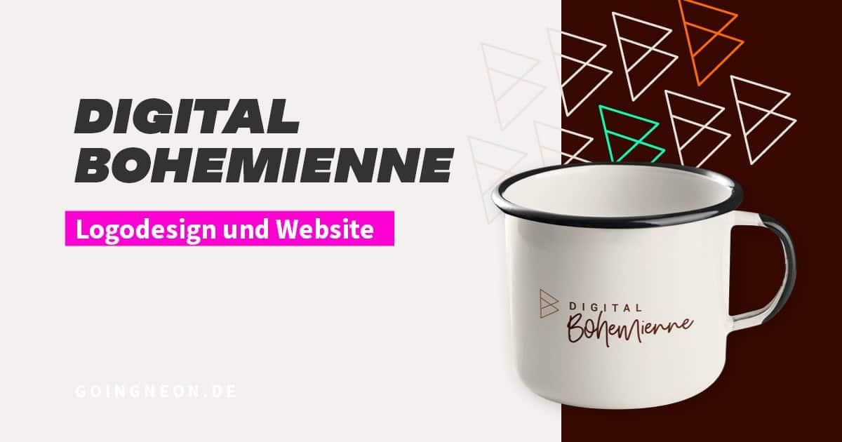 Digital Bohemienne Logodesign und Website FB