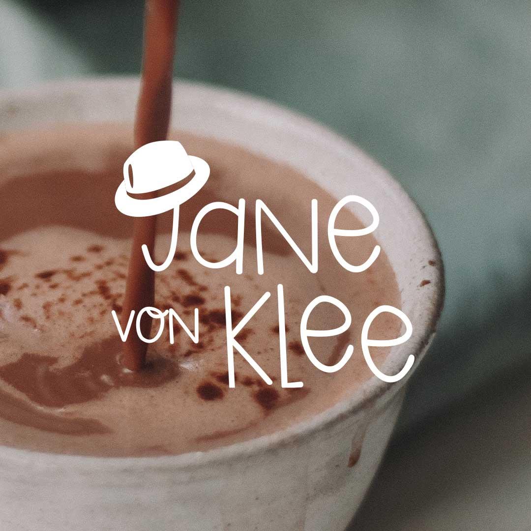 Jane von Klee Hauptlogo in weiss