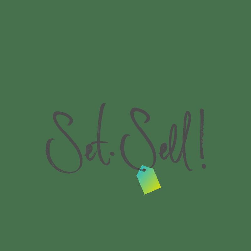 Logo Set. Sell!