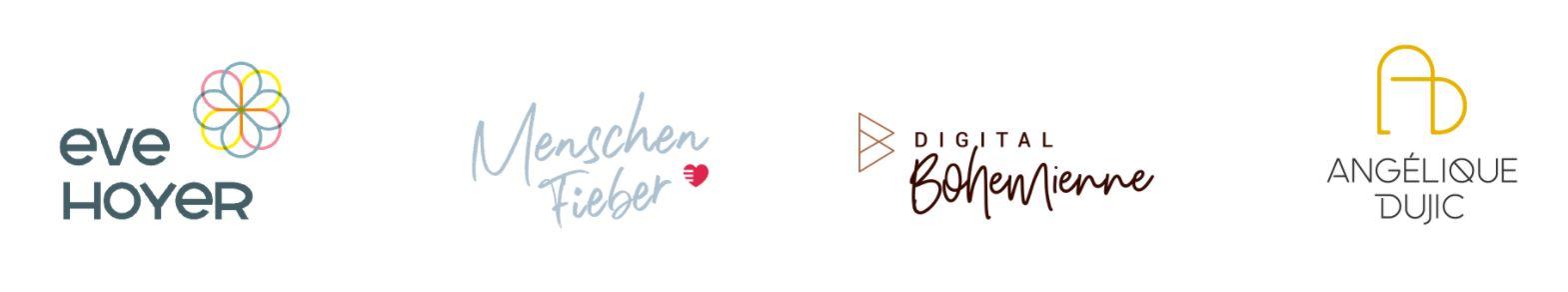 Logos gehen und bleiben
